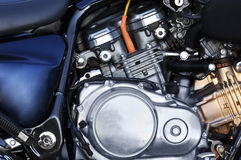 Motorbike engine Royalty Free Stock Photo