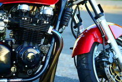 Motorbike engine Royalty Free Stock Images