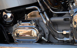 Motorbike engine Royalty Free Stock Photography
