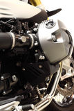 Motorbike engine A Royalty Free Stock Photography