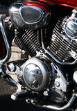 Motorbike engine Stock Photography