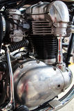 Motorbike engine. Stock Photos