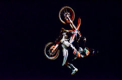 Motorbike Freestyle Show Stock Photography