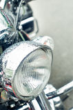 Motorbike front light Stock Image