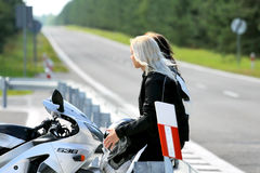 Motorbike & Girls - Passion Royalty Free Stock Photos