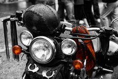 Motorbike Harley detail Stock Photography