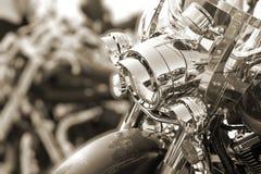 Motorbike head lamp Royalty Free Stock Image