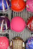 Motorbike helmets Royalty Free Stock Photography