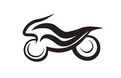 Motorbike icon Stock Photo