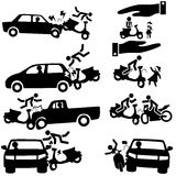Motorbike insurance stock illustration