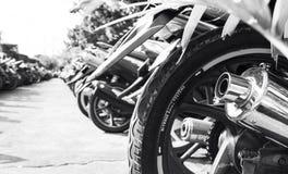 Motorbike line Royalty Free Stock Photos