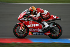 MotorBike on MotoGP circuit Stock Photos