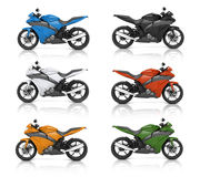 Motorbike Motorcycle Bike Roadster Transportation Concept Stock Photography