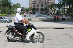 Motorbike police Royalty Free Stock Photography