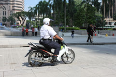 Motorbike police Stock Images