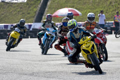 Motorbike race Royalty Free Stock Photos