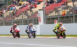 Motorbike race Stock Photos