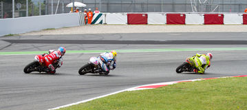 Motorbike race Stock Image
