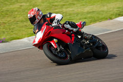 Motorbike racing. Royalty Free Stock Photography