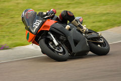 Motorbike racing. Stock Photo