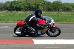 Motorbike racing Royalty Free Stock Images