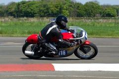 Motorbike racing. Classic Motorbike motorcycle race racing east fortune Scotland royalty free stock images