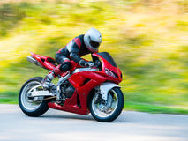 Motorbike racing Royalty Free Stock Photo