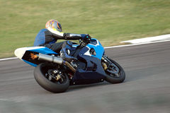 Motorbike racing II Royalty Free Stock Images