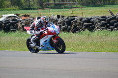 Motorbike racing. Motorbike motorcycle racing east fortune scotland stock photos