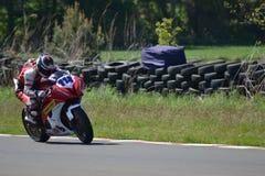 Motorbike racing. Motorbike motorcycle race racing east fortune Scotland royalty free stock image