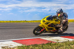 Motorbike Racing Royalty Free Stock Photography