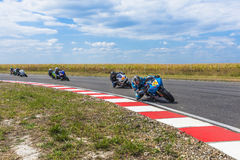 Motorbike Racing Royalty Free Stock Image
