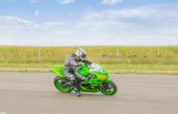 Motorbike Racing Royalty Free Stock Images