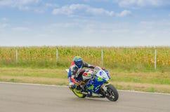 Motorbike Racing Royalty Free Stock Photo