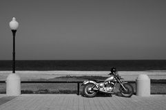 Motorbike rhodes. Motorbike on the beach popular holiday destination/rhodes/greece royalty free stock image