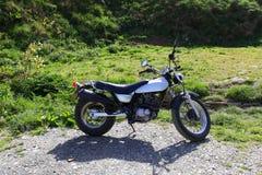 Motorbike on road Stock Photography
