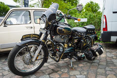 Motorbike Royal Enfield Bullet 350 Classic Stock Images
