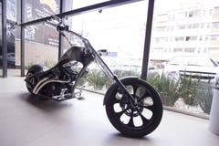Motorbike in showroom