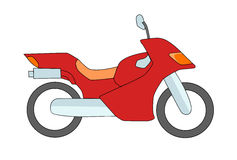 Motorbike Royalty Free Stock Image