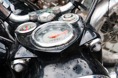 Motorbike speedometer Royalty Free Stock Image
