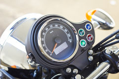 Motorbike speedometer Stock Images