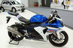 motorbike suzuki Royaltyfri Bild