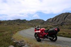 Motorbike tour 3 royalty free stock photos