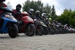 Motorbike tournament Stock Images