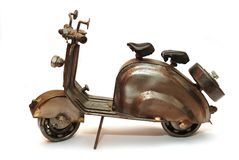 Motorbike toy Stock Images