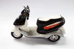 Motorbike toy Royalty Free Stock Photo