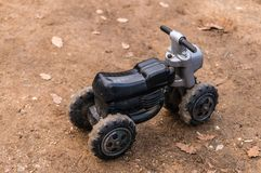 Motorbike toy Royalty Free Stock Image