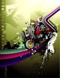 Motorbike urban vector Stock Image