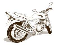 Motorbike vector illustration Royalty Free Stock Photos