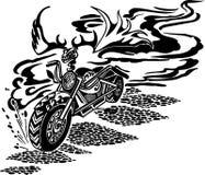 Motorbike. Vector illustration. Stock Photography